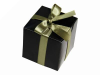 5.08cm Black Favour Box-25pc