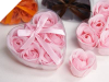 Heart Rose Soap Petals-Pink