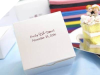 Personalized Cake Box - White - 100 pcs