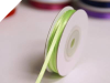 0.31 cm Satin Ribbon-Apple Green