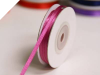 0.31 cm Satin Ribbon-Burgundy