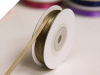 0.31cm Satin Ribbon-Chocolate 91metres