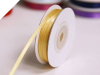 0.31 cm Satin Ribbon-Gold 91metres