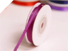 0.31 cm Satin Ribbon-Purple 91 metres