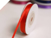 0.31 cm Satin Ribbon-Red