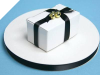 0.95 cm Satin Ribbon-Black