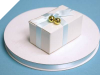 0.95 cm Satin Ribbon-Baby Blue