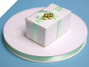 0.95 cm Satin Ribbon-Mint