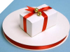 0.95 cm Satin Ribbon-Red