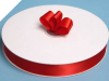 2.22 cm Satin Ribbon-Red