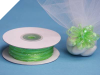0.31 cm Pull Ribbon-Apple Green