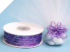 0.31 cm Pull Ribbon-Purple