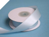 2.22 cm Wired Satin Ribbon - Light Blue