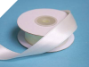 2.22 cm Wired Satin Ribbon - Ivory