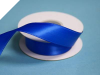 2.22 cm Wired Satin Ribbon - Royal Blue