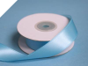 2.22 cm Wired Satin Ribbon - Turquoise