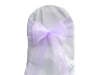 Lavender Chair Sash