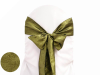Willow Green Taffeta Crinkle Chair Sash