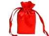 15.24 cm x 22.86 cm Red Satin Bags-12/pk