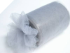 22.86cm x 91.44m Tulle Roll - Silver