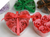 Heart Rose Soap Petals-Watermelon