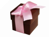 Chocolate Favour Boxes 2pc - 25 Pack