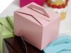 Tote Favour Boxes - Pink x 50pc