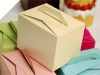 Tote Favour Boxes - Ivory x 50pc