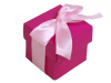 Fuchsia Favour Boxes 2pc - 25 Pack