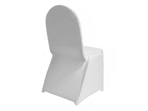 Spandex Stretch Chair Covers - WHITE