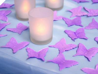 500 Butterfly Petals - Lavender