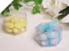 Clear Hexagon Favour Box - 25 pk