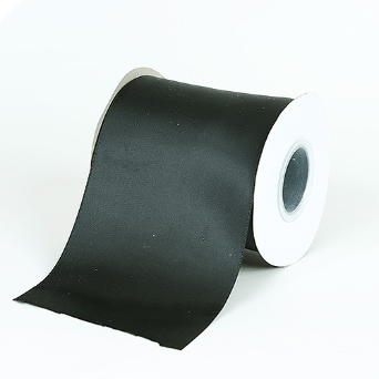 10.16cm Satin Ribbon-Black