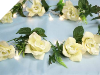 Supersized Rose Garland-Cream