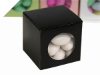 Window Cube Favour Box Black-50pc