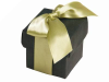 Black Favour Boxes 2pc - 25 pack