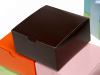 10 x 10 x 5cm Cake Box - Chocolate -25pc