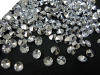 Diamond Cut Round Scatters - Clear 1000/pk