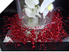 Hearts & Bead Garland - Red - 1.8 metre