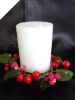 Red Berry Candle Ring-1/pk