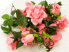 Supersized Rose Garland-Pink
