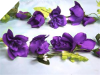 Supersized Rose Garland-Purple