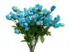 Mini Rose Buds - Turquoise 1-bunch