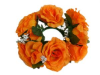 Candle Ring-Orange-1/pk