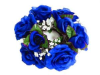 Candle Ring-Royal Blue-1/pk