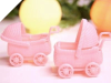 Baby Carriage-Pink-12/pk