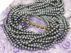 Lustre Pearl Strands - Pewter