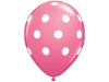 Polka Dot Party Balloons-Pink 25/pk