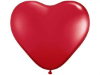 Love Heart Balloons-Red 25/pk