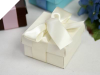 6.35cm Ivory Favour Boxes - 50 Pack